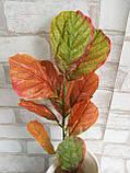 Листья осенние на ветке, в-45 см., 20/15 (цена за 1 шт. + 5 гр.), фото 5