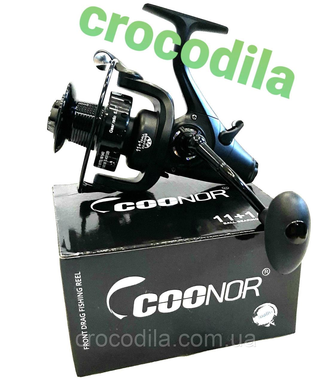 Карповая катушка с бейтранером Coonor VM 6000 11+1
