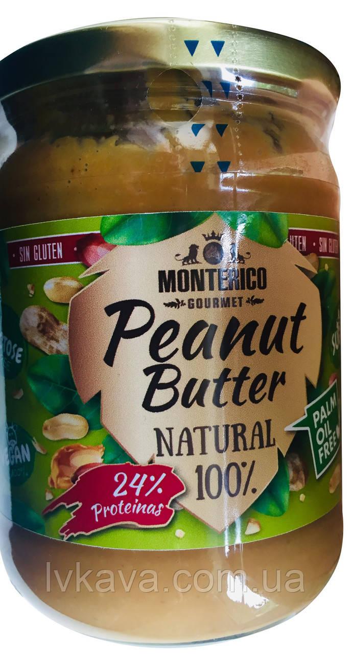 Арахисовое масло Natural 100 % Monterico , 500 гр