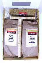 Подарочный набор полезного чая из трав для бани, Натуральный травяной фиточай из Карпатских трав и плодов, фото 3