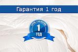 Одеяло силиконовое белое, размер 195х210 см, демисезонное, фото 3