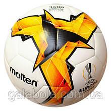Мяч футбольный Molten UEFA Europa League F5U3400-K19 (размер 5)