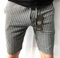 Мужские шорты River D9701 светло-серые