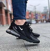 Мужскме кроссовки Nike Air Max 270 Black\Чоловічі кросівки Найк Аір Макс 270 Чорні\Найк Аир Макс 270 Черные