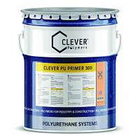 Clever PU Primer 300 2K ПУ Влагостойкая грунтовка (18кг)