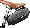 Вело сумка под седло карбоy жесткая водонепроницаемая