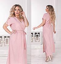 Шикарное платье с V-образным вырезом, фото 3