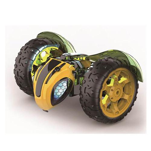 Машина UD2190A (6шт) р/у, аккум,оса,30см,муз,свет,трюковая, рез.кол, USBзар, в кор-ке,32-22-25см