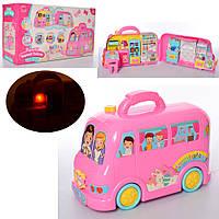 Мебель для кукол QF2813  автобус-чемодан