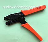 Инструмент обжимной (обжимка) HS-06WF для втулочных наконечников и гильз от 0.25 до 6 мм², фото 2
