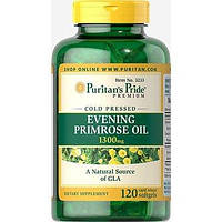 Puritan's Pride Evening Primrose Oil 1300 mg with GLA - 120 софт