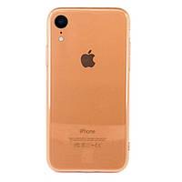 Чехол накладка xCase на iPhone XR Transparent Gold
