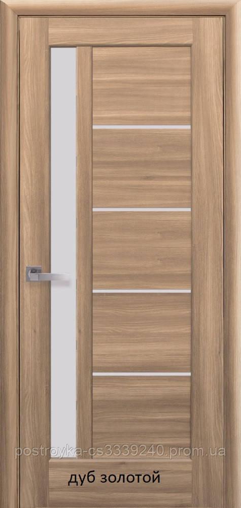 Двери межкомнатные Ностра Грета Новый Стиль ПВХ со стеклом сатин 60, 70, 80, 90