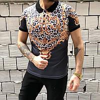 Мужская модная футболка с рисунками