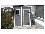Садовый домик сарай Keter Manor Pent 6x4 Shed, фото 9