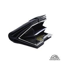 Портмоне кожаное Contatto 2656 nero черный, фото 2