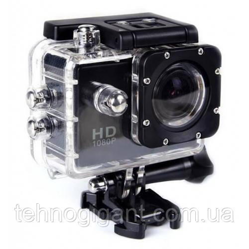 Экшн камера А7 Sport Full HD 1080P. Аналог GoPro gopro. аквабокс, FullHD, крепление на шлем, Видеорегистратор