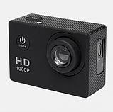 Экшн камера А7 Sport Full HD 1080P. Аналог GoPro gopro. аквабокс, FullHD, крепление на шлем, Видеорегистратор, фото 4