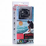 Экшн камера А7 Sport Full HD 1080P. Аналог GoPro gopro. аквабокс, FullHD, крепление на шлем, Видеорегистратор, фото 10