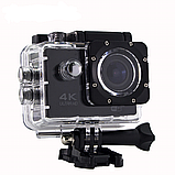 Экшн камера А7 Sport Full HD 1080P. Аналог GoPro gopro. аквабокс, FullHD, крепление на шлем, Видеорегистратор, фото 9