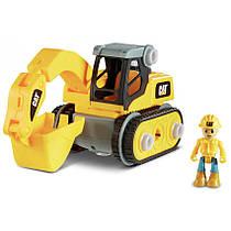 Игрушка-конструктор САТ Экскаватор, 20 см Toy State 80903F