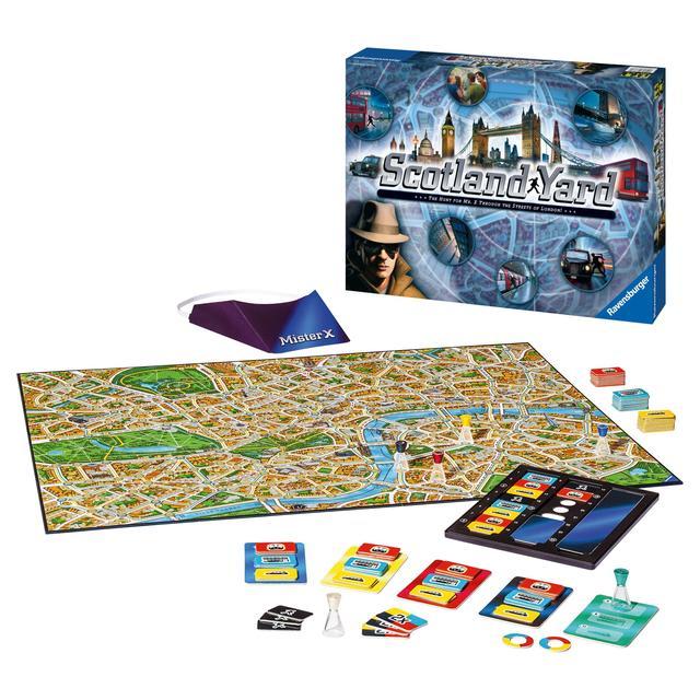 Настольная игра Ravensburger Scotland Yard (26780)