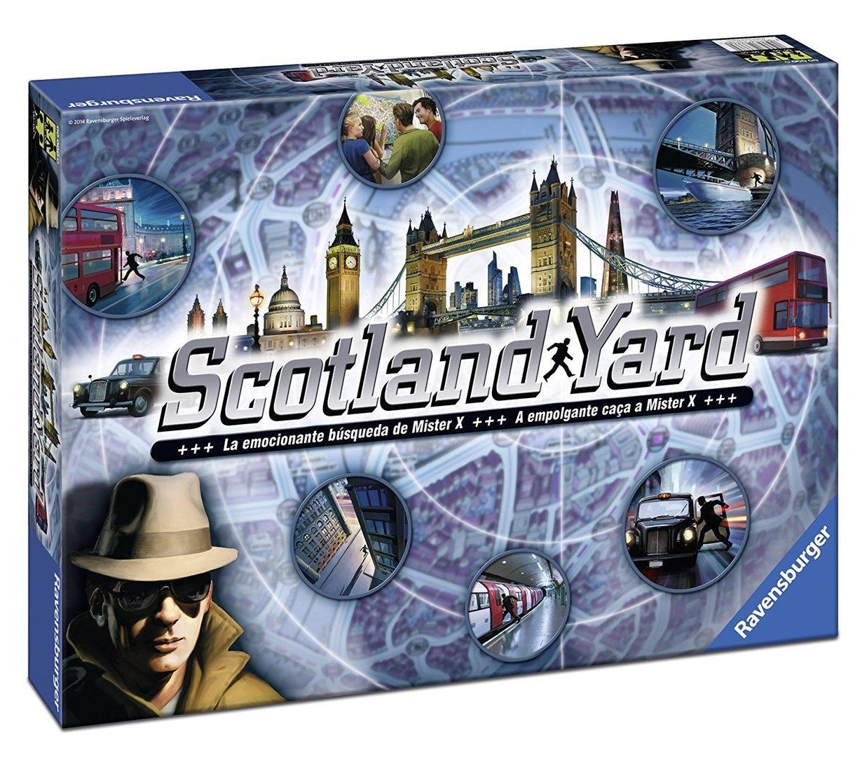 Настільна гра Ravensburger Scotland Yard Настольная игра Скотленд Ярд 26780