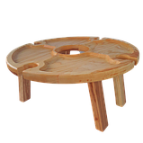 Столик для вина на ножках 35х18 см. из ясеня или черешни НМ-125, фото 2