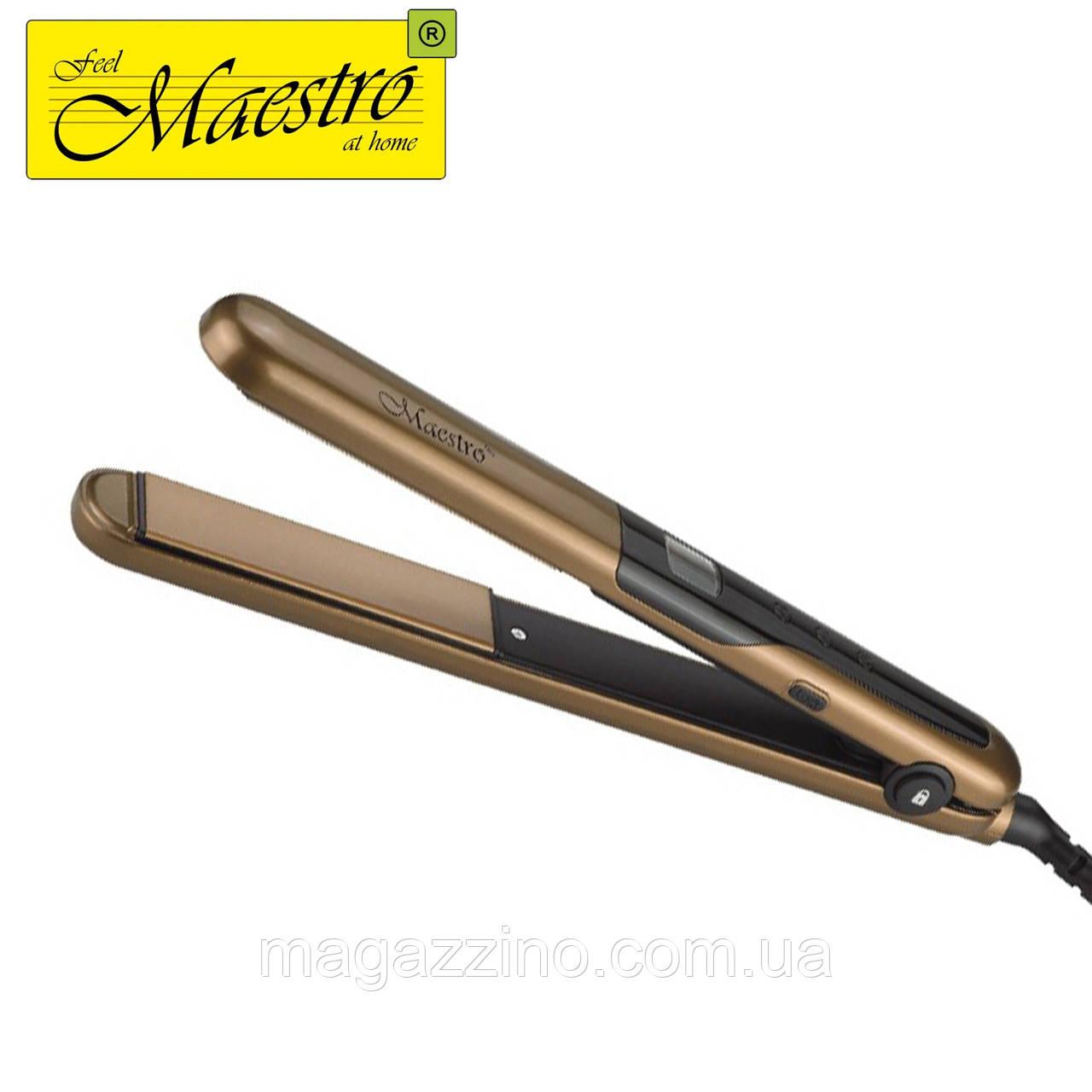 Утюжок для волос Maestro MR-255, 47 Вт.