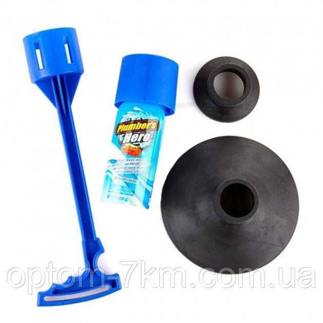 Вантуз PLUMER'S HERO для унитаза и канализационных труб Or