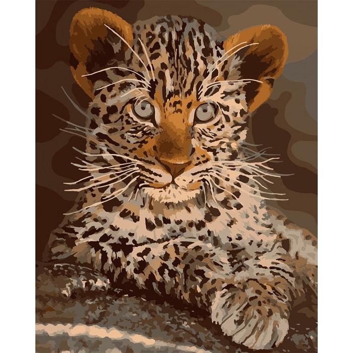 Картина по номерам  Маленький хищник ТМ Идейка 40 х 50 см КНО4169