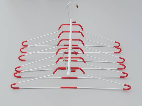 Плечики металлические лестница, длина 41,5 см, фото 2