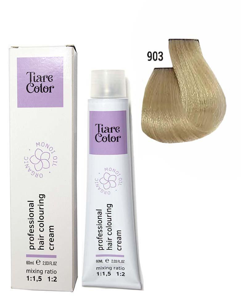Крем - краска для волос 903 Tiare color 60 мл