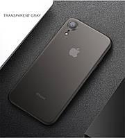 тонкий матовый чехол CAFELE для iPhone XR ультратонкий пластиковый