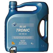 Полусинтетическое моторное масло Aral BlueTronic 10W-40 - 5л