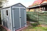 Садовий будиночок сарай Keter Manor 6x8 DD Shed, фото 10