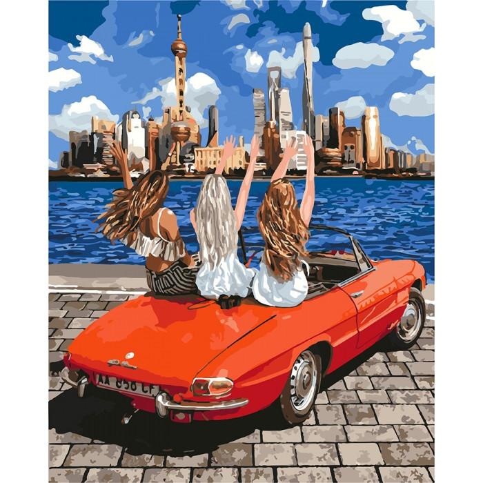 Картина по номерам Девочки подружки 40 х 50 см ТМ Идейка КНО4712