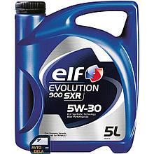 Синтетическое моторное масло ELF Evolution 900 SXR 5W-30
