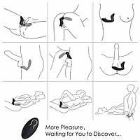 Вибромассажер простаты массажер простаты с пультом управления лечение простатита вибратор  простаты и точки G
