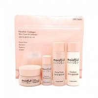 Etude House Moistfull Collagen Skin Care Kit Набор увлажняющих средств с коллагеном