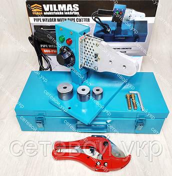 Паяльник для пластиковых труб VILMAS 600-PW-3, фото 2