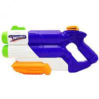 Водный пистолет Water Attack, 38 см, синий  sco