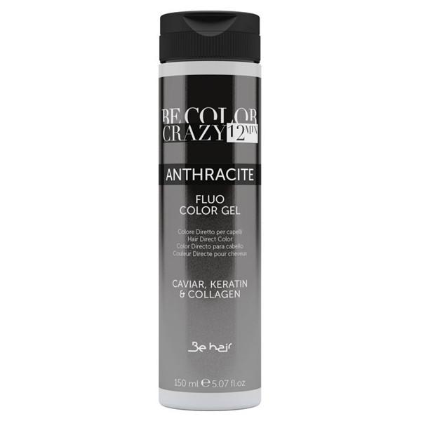 Барвник прямої дії Be Hair Be Crazy Color 12 Min Anthracite Антрацит 150 мл