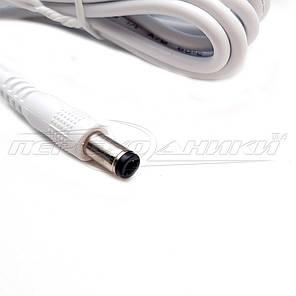 Импульсный блок питания 12V 0.5 A (6Вт)белый, штекер 5.5х2.5 мм, 0.9 м (хорошее качество), фото 2