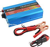 Преобразователь напряжения(инвертор) UKC 12-220V 400W с чистой синусоидой (4137)