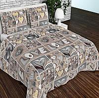 Ткань для постельного белья  бязь голд люкс Love 3d