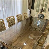 Мягкое стекло на стол (защита на стол) силиконовая скатерть