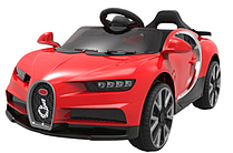 Эл-мобиль T-7638 EVA RED легковой на Bluetooth 2.4G Р/У 12V4.5AH мотор 2*20W с MP3 103*65*45 /1/