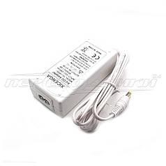 Импульсный блок питания 8V 3.0 A (24Вт) белый, штекер 5.5х2.5 мм, 1.2 м (хорошее качество)