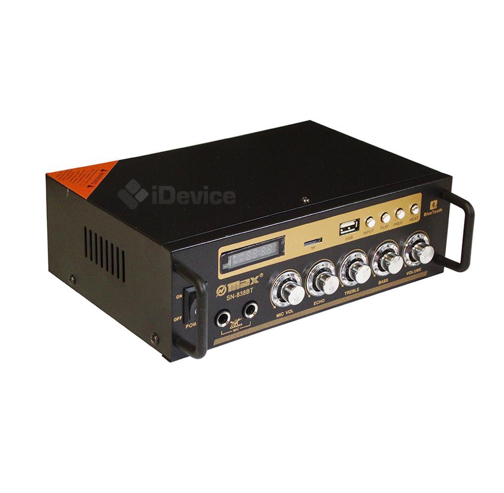 Усилитель звука UKC SN-838BT с Bluetooth, USB